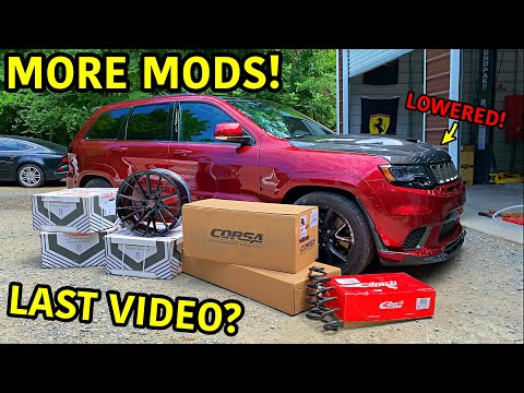 Rebuilding A Wrecked 2018 Jeep Trackhawk Part 25