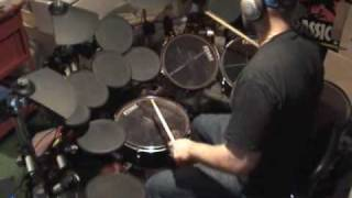 "Zappa ""Excentrifugal Forz"" Drum Improv/cover"