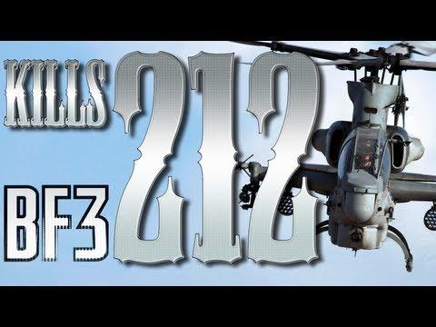 212 kills BF3 HELI gameplay (Oreo & Juba)