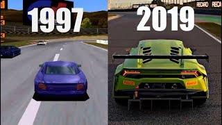Evolution Of Gran Turismo 1997\2017