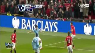 Manchester United vs Manchester City 0-3 ~ All Goals & Highlights [25/03/2014]