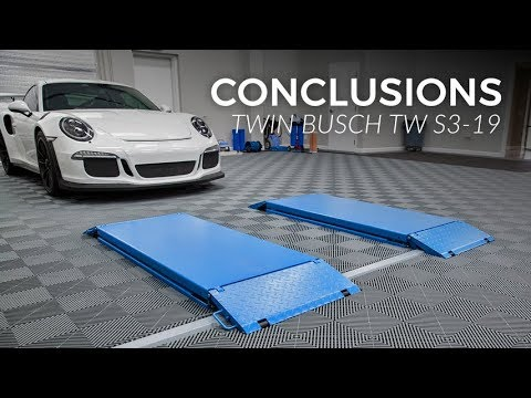 Twin Busch TW S3-19 Scissor Lift Conclusions