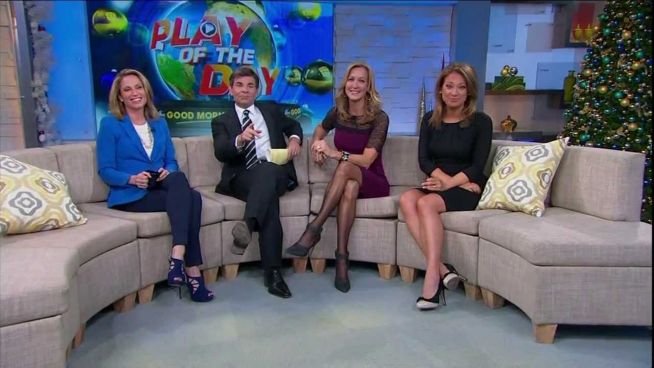 Amy Robach Lara Spencer Ginger Zee December 17 2013 Youtube