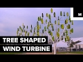 This nature-inspired wind turbine is shaped like a tree