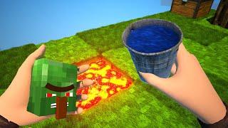 Realistic Sky Block - Minecraft Animation
