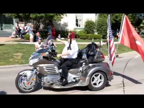 Memorial Day Parade 2016, Sterling Heights Michigan - Canon 60D sample video