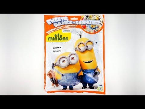 миньоны пакетики с игрушками сюрпризами Minions 2015