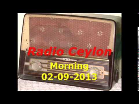 04~Radio Ceylon 02-09-2013~Morning Broadcast