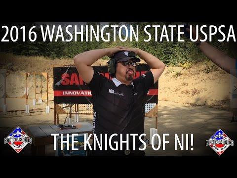 Holy Grail Themed Washington State USPSA Championships Aug 2016