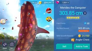 Named Fish Mendes the Gangster Catch Gameplay 1 Fishing Strike