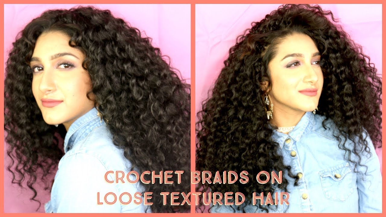 Asian Hair Loose Curly Hair Crochet Braids Ll Ft Trendy Tresses