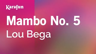 Karaoke Mambo No. 5 (A Little Bit Of...) - Lou Bega *