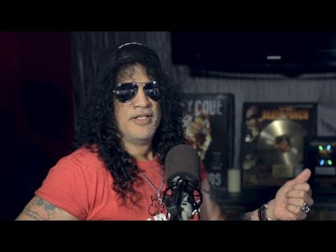 Guns N' Roses Slash On Touring With Motley Crue & The Dirt (NETFLIX) Connection