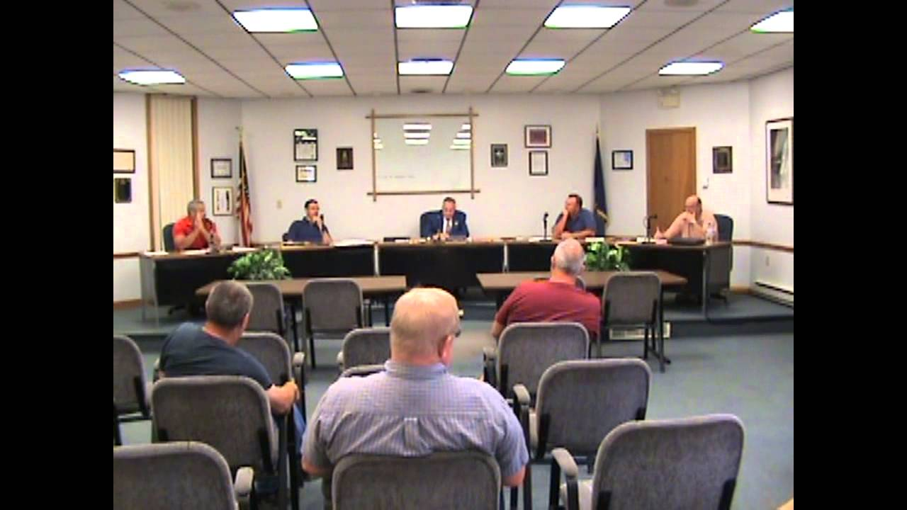 Rouses Point Village Board Meeting  8-4-14
