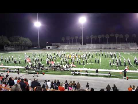 Winter Park High School Band - Homecoming - 10-28-2016