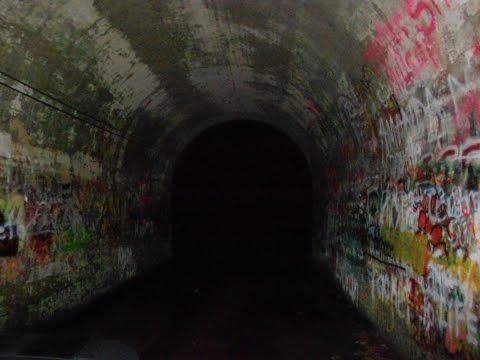 Most HAUNTED Tunnels in the World? Sensabaugh and Click tunnels caught EVP!!
