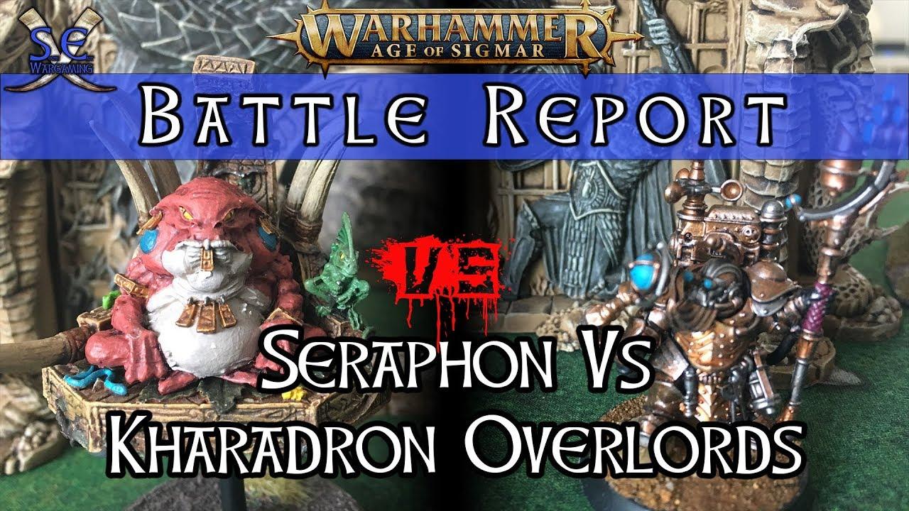 Skaven vs Stormcast - Age of Sigmar Battle Report ...