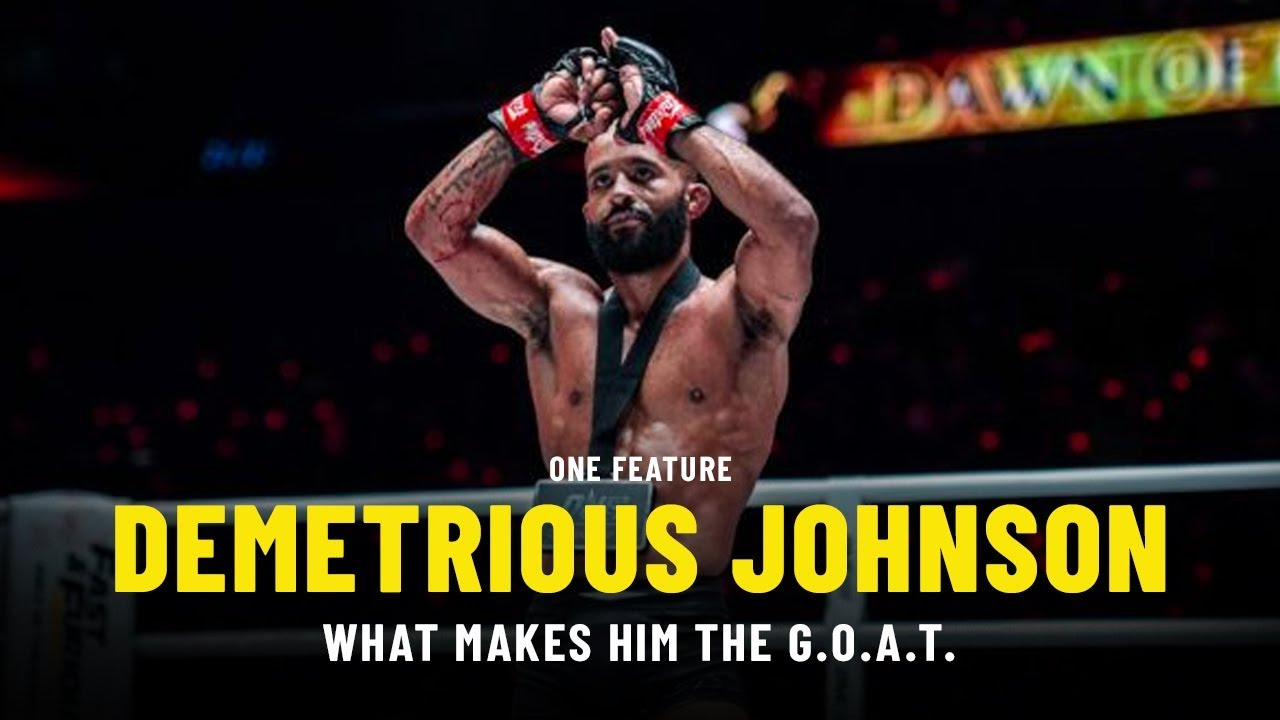 What Makes Demetrious Johnson The G.O.A.T.   ONE Feature