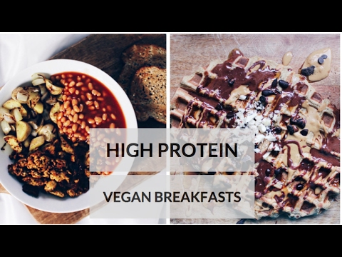 HEALTHY HIGH PROTEIN VEGAN BREAKFAST IDEAS