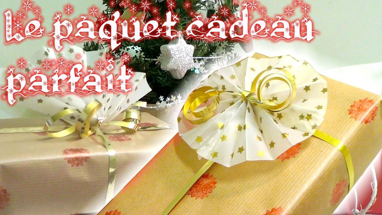 Diy faire le plus beau paquet cadeau youtube - Faire un beau paquet cadeau ...
