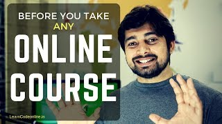 Before you take any online course