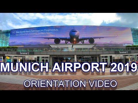 MUNICH AIRPORT 2019 - Terminal 1 + Terminal 2 + Plane Observation Deck + Duty Free