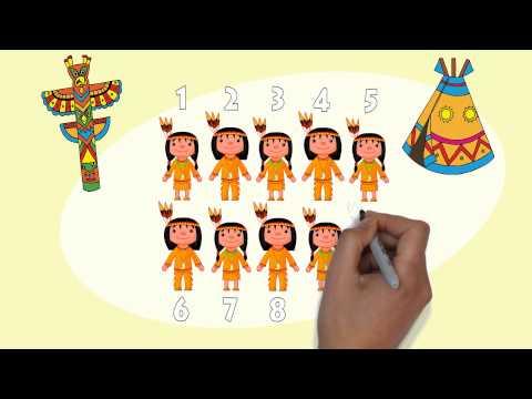 10 Little Indians Children Song