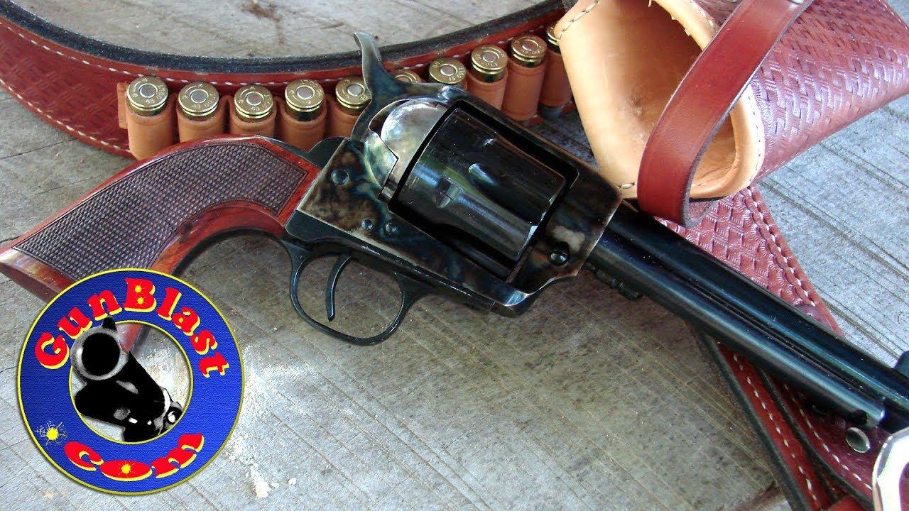 "Shooting Taylor's & Co  Tuned ""Smoke Wagon"" Single Action Revolver -  Gunblast com"