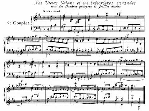 [Cziffra György] Couperin: Les Folies Francaises Ou Les Dominos for Piano