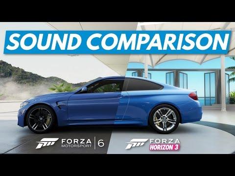 engine sound comparison forza 6 vs horizon 3 forza. Black Bedroom Furniture Sets. Home Design Ideas
