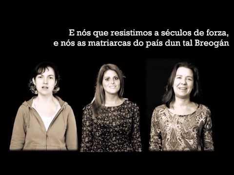 Guadi Galego - Matriarcas (letras na pantalla)