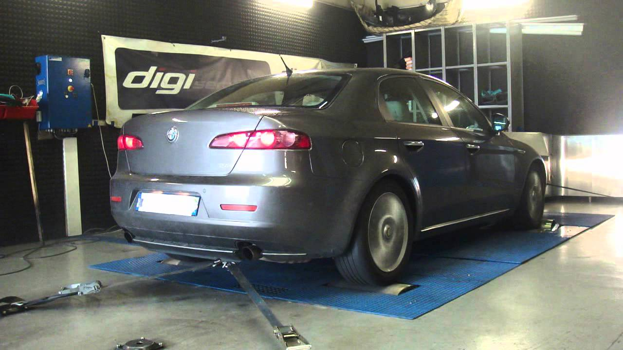 reprogrammation moteur alfa romeo 159 jtd 200cv 219cv dyno digiservices youtube. Black Bedroom Furniture Sets. Home Design Ideas