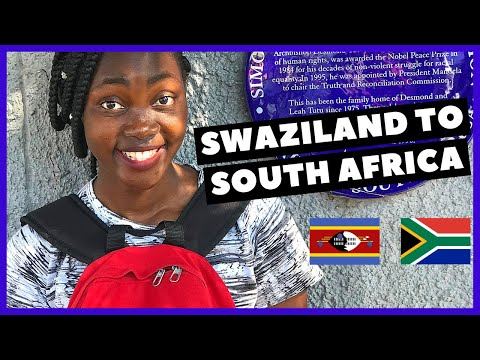 My Road Trip From Swaziland To South Africa   South African YouTubers  Sonny Gavin
