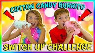 Baixar COTTON CANDY BURRITO INGREDIENT SWITCH UP CHALLENGE | We Are The Davises