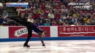 Jason BROWN Men SP 2013 Skate America (Japanese TV)