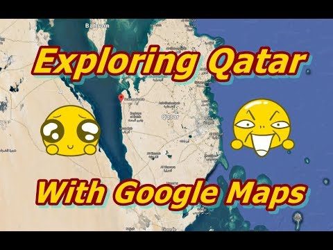 Exploring Qatar on Google Maps