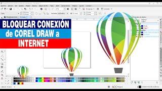 Como bloquear conexion de Corel Draw a internet y evitar bloqueo