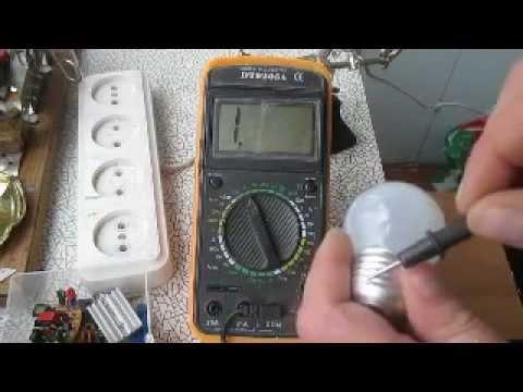 Инструкция как пользоваться мультиметром.