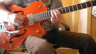 Brian Setzer - The Knife Feels Like Justice (Guitar Solo Tutorial Part 2)