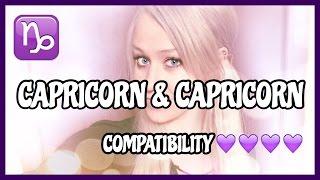 Capricorn & Capricorn // Compatibility