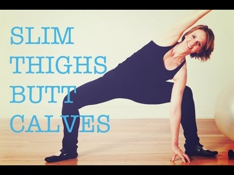 Yoga Inspired Fitness WorkOut Slim Tone Thighs Butt Calves | workout #3