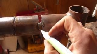 Сварка труб с очень большим зазором