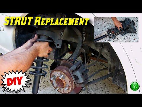 How To Replace Worn Rear Struts(Hyundai Sonata)