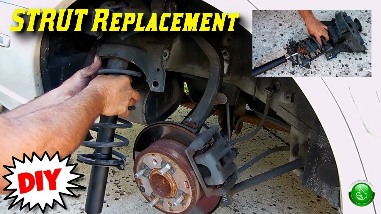 How To Replace Worn Rear Struts Hyundai Sonata