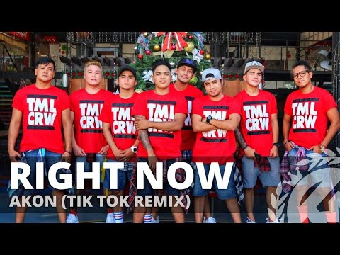 RIGHT NOW NA NA NA (Tik Tok Remix) By Akon | Dance Fitness| Pop | TML Crew Carlo Rasay