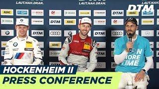 Re-LIVE | Champions-Conference | DTM Hockenheim Final 2018