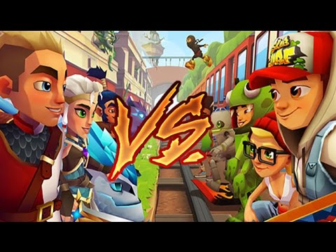 Blades of Brim VS. Subway Surfers
