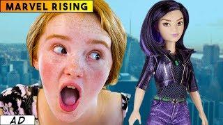 Quake (Daisy Johnson) doll from Marvel Rising: Secret Warriors | Toy Review 2018