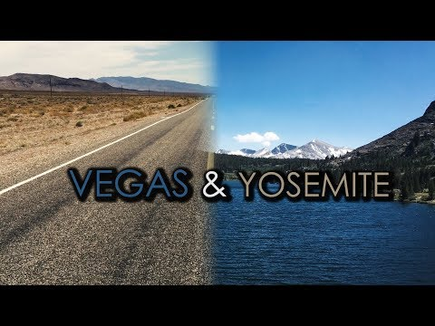 USA Road Trip - Barry's Travels Entry 4: Destination Vegas, Grand Canyon and Yosemite!