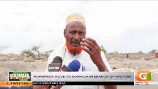 Wajir drought; hundreds move to Somalia in search of pasture